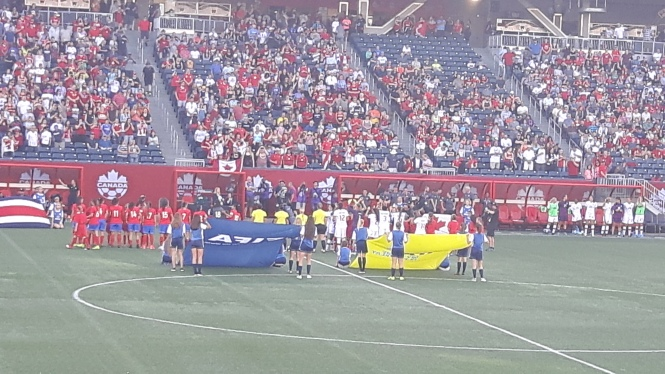 Canada Vs. Costa Rica Winnipeg June 8 2017
